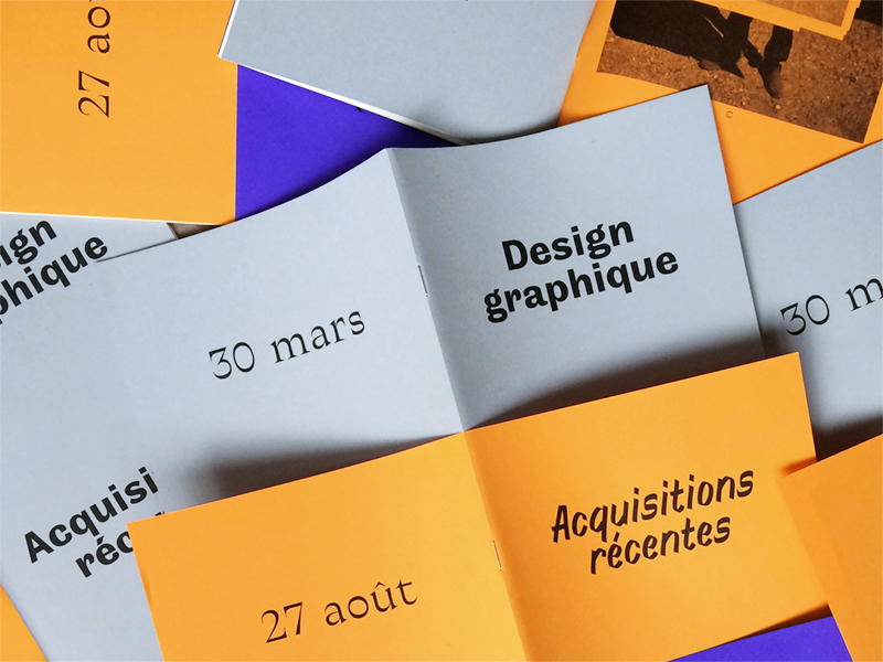 Design graphique – Acquisitions récentes